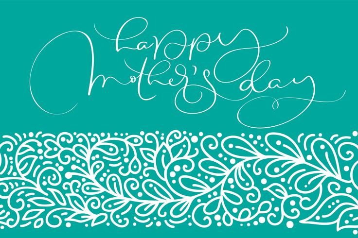 Glad mors dag hälsningskort vektor