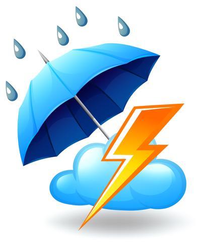 Eine stürmische Jahreszeit vektor