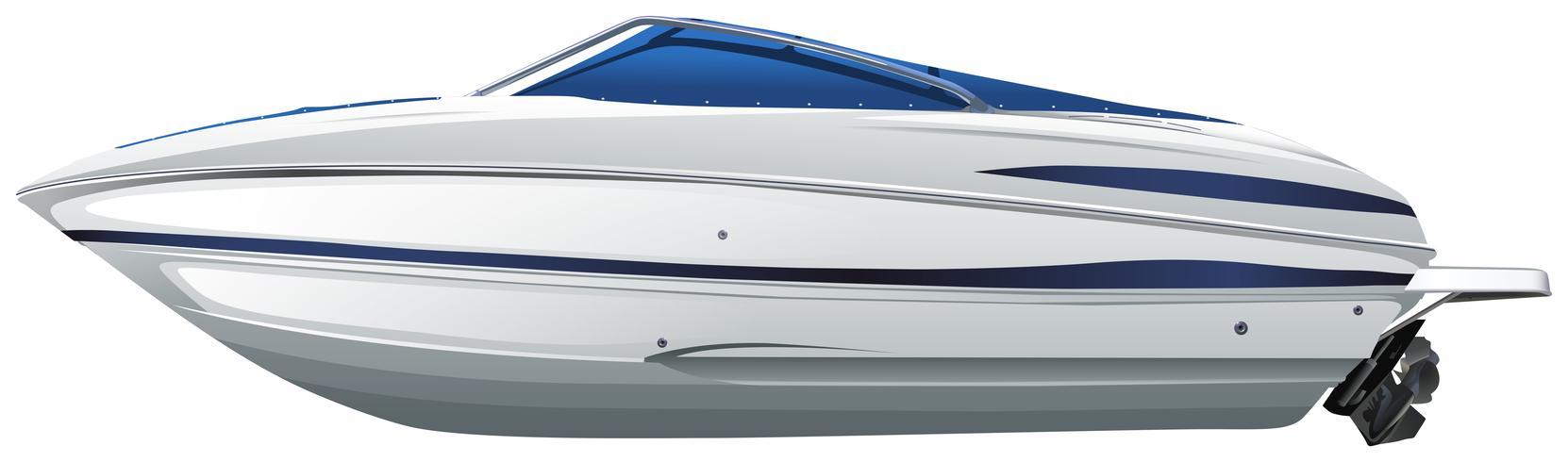 Ein Boot vektor