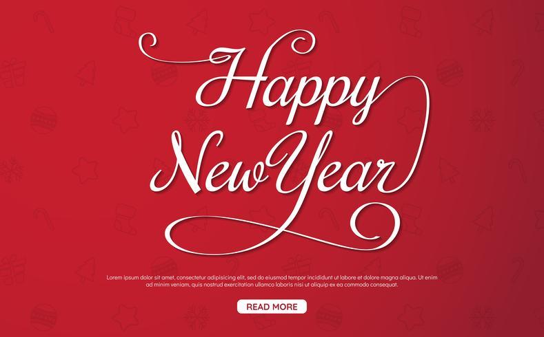 Guten Rutsch ins Neue Jahr-Hintergrund-Vektorhintergrund vektor