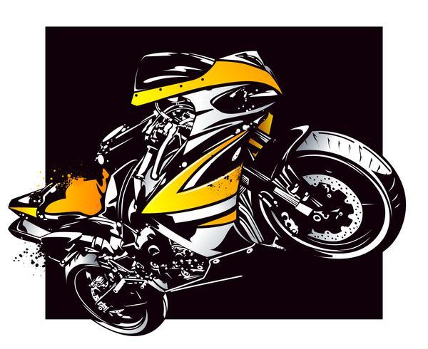 Sportmotorrad vektor