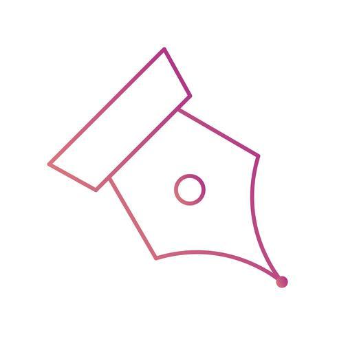 Spitze-Vektor-Symbol vektor