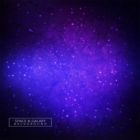 Galaxie in der Raumschönheit des bunten Hintergrundes des Universums vektor