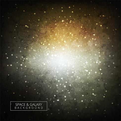 Glänzender bunter Galaxiehintergrund des Universums vektor