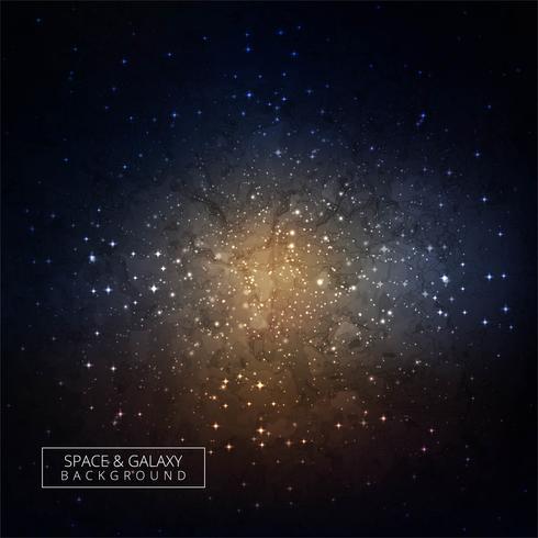 Raumhintergrund des Galaxieuniversums hoher Qualität vektor