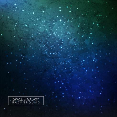 Galaxie-Hintergrund-bunte Auslegung vektor