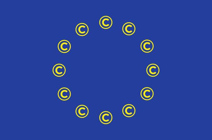Artikel 13 konceptuell illustration. vektor