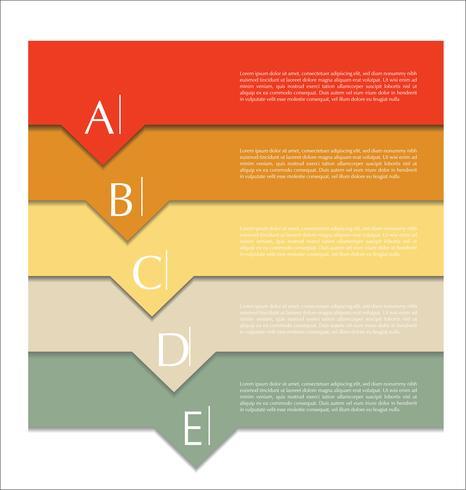 Modernes Design abstrakte Vorlage vektor