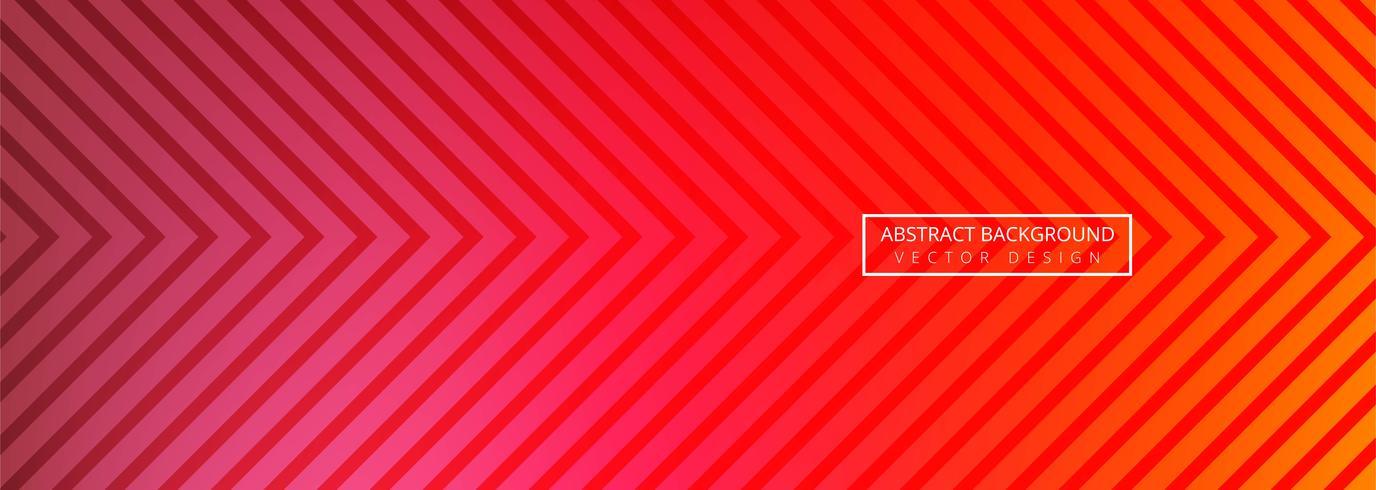 Abstraktes geometrisches Fahnenschablonendesign vektor