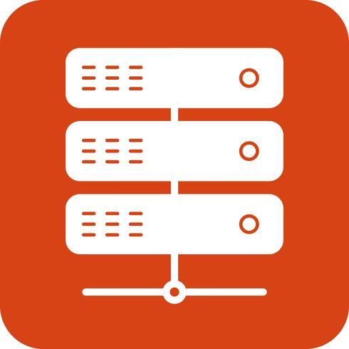 Vektor-Server-Symbol vektor