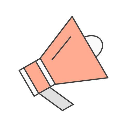 Vektor-Lautsprecher-Symbol vektor