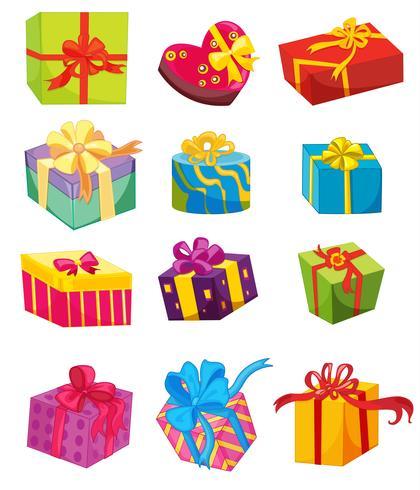 Die Geschenke vektor