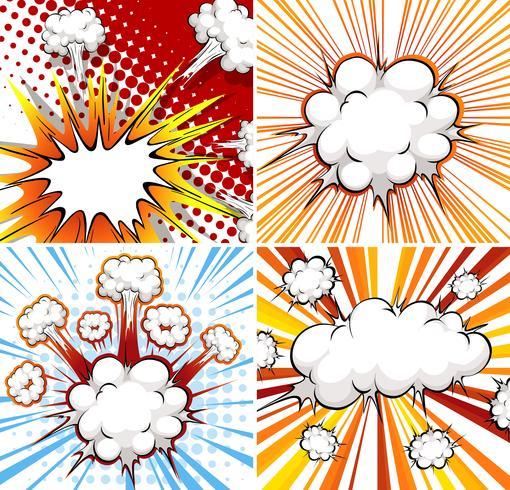 Explosion vektor