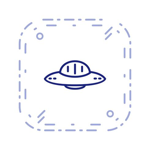 Vektor Ufo-ikon