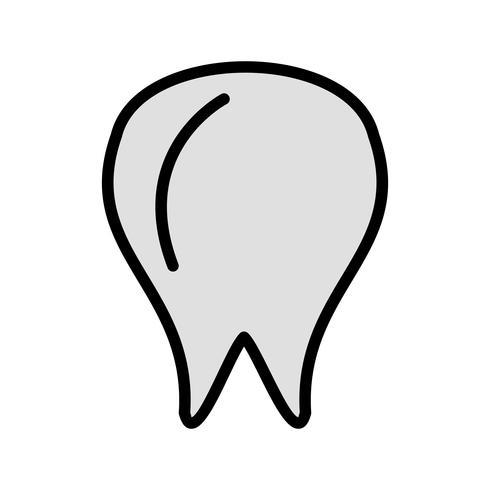 Vektor tand ikon