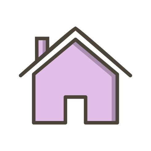 Haus-Symbol-Vektor-Illustration vektor