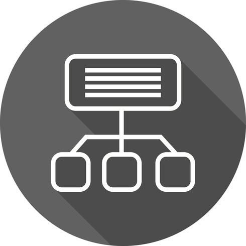 vektor sitemap ikon