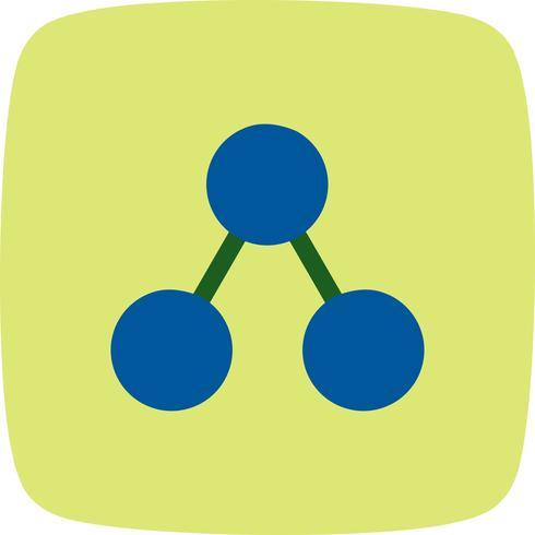 Teilen Sie Symbol-Vektor-Illustration vektor