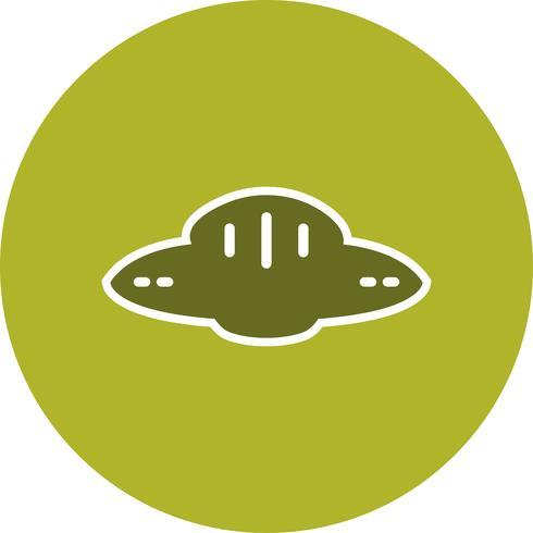 Vektor-UFO-Symbol vektor