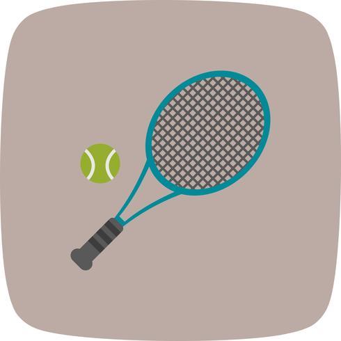 Tennis-Ikonen-Vektor-Illustration vektor