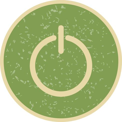 Logout-Symbol-Vektor-Illustration vektor