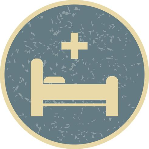 Vektor-Bett-Symbol vektor