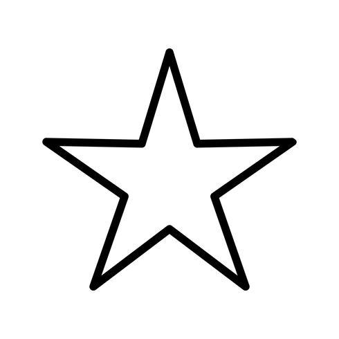 Sternikonen-Vektor-Illustration vektor