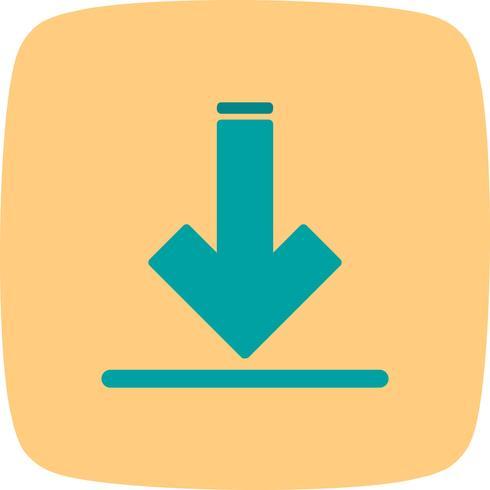 Vektor-Download-Symbol vektor
