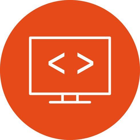Vektor-Code-Optimierung-Symbol vektor