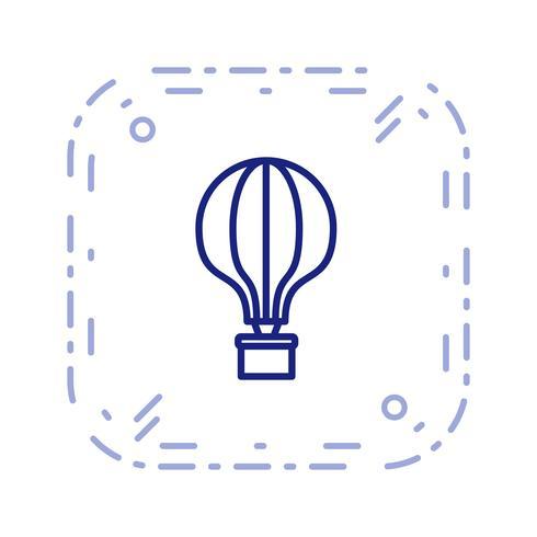 Vektor-Luftballon-Symbol vektor