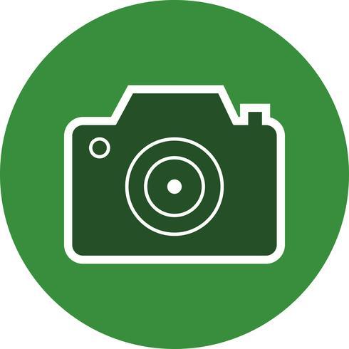 Kamera-Symbol-Vektor-Illustration vektor