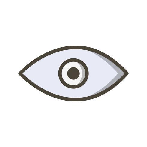 Vektor-Augensymbol vektor