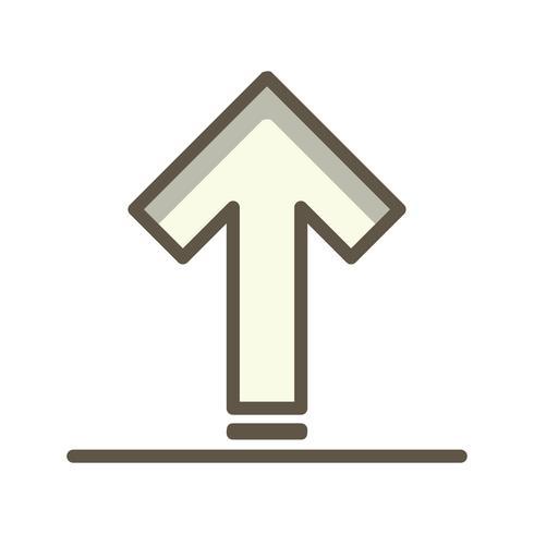 Vektor-Upload-Symbol vektor