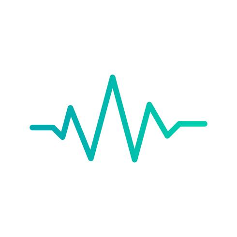 Tonschlag-Ikonen-Vektor-Illustration vektor