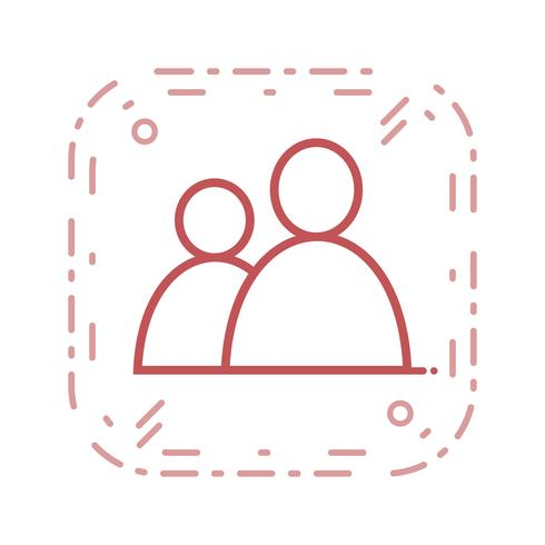 Vektor-Benutzer-Symbol vektor