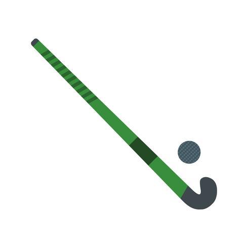 Hockey-Ikonen-Vektor-Illustration vektor