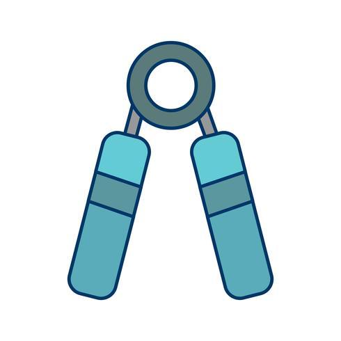 Stärke-Symbol-Vektor-Illustration vektor