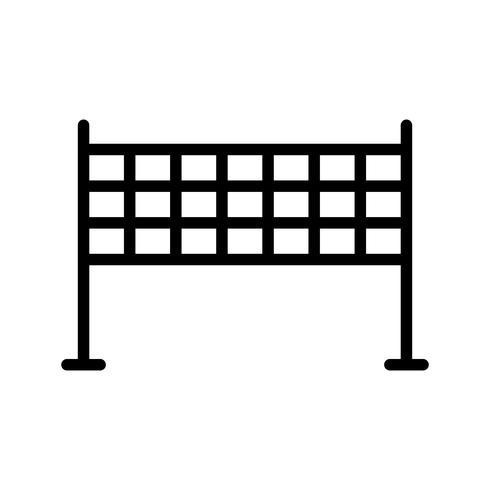 Netto-Symbol-Vektor-Illustration vektor