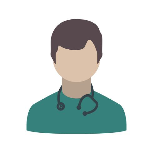 Vektor doktorns ikon