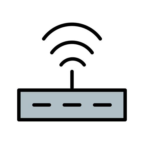 Vektor-Router-Symbol vektor