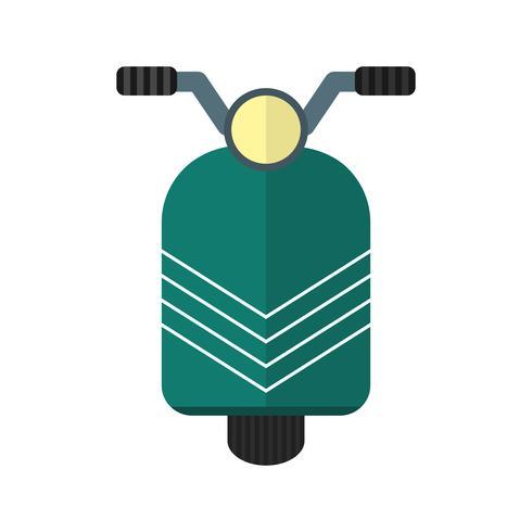 Vektor-Scooter-Symbol vektor