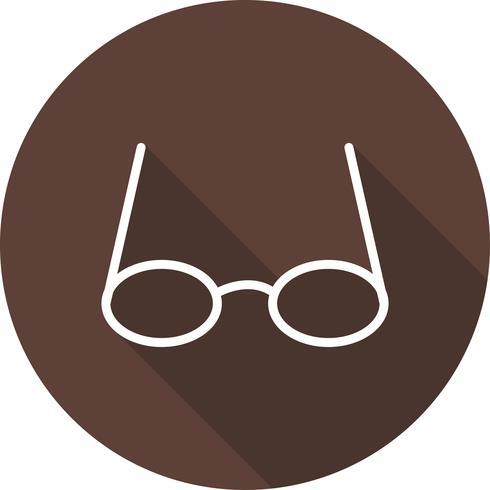 Vektor-Gläser-Symbol vektor