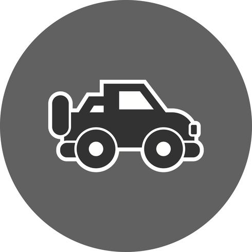 Vektor-Jeep-Symbol vektor
