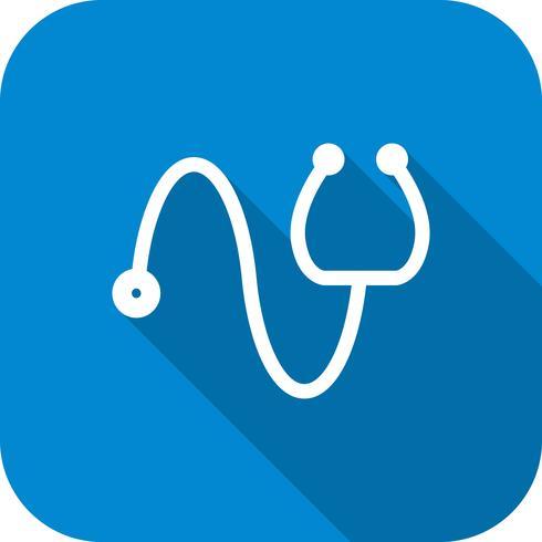 Vektor Stetoskop Ikon