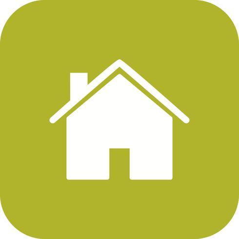 hus ikon vektor illustration
