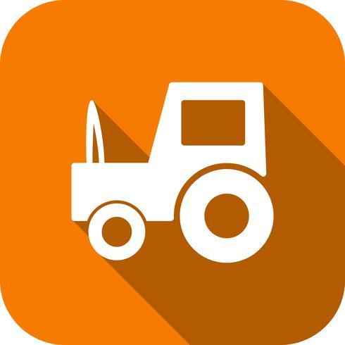 Vektor Traktor Ikon
