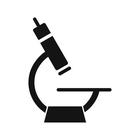 Vektor-Mikroskop-Symbol vektor