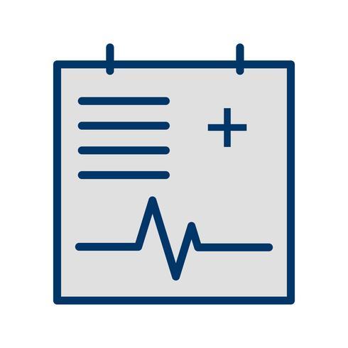 vektor medicinsk diagram ikon