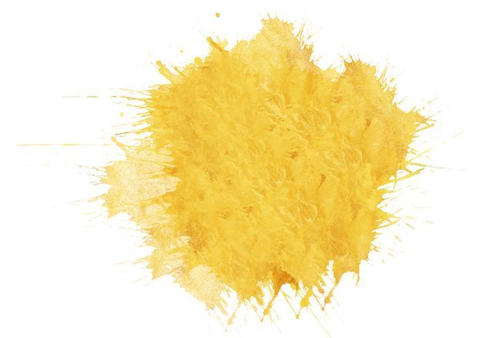 Bunter handgemalter Aquarellhintergrund. Gelbe Aquarellpinselanschläge. Abstrakte Aquarellbeschaffenheit und -hintergrund für Design. Aquarellhintergrund auf strukturiertem Papier. vektor