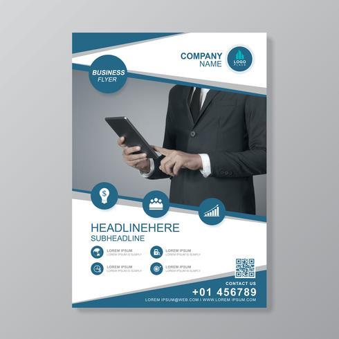 Affärsområde a4 mall för en rapport och broschyrdesign, flygblad, banner, broschyrer dekoration för tryck och presentation vektor illustration